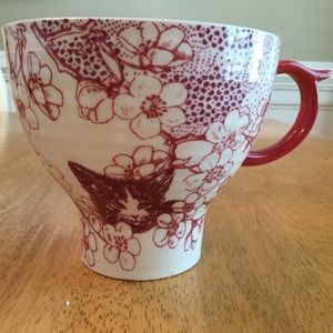 Anthropologie CAT Menagerie Very Large Mug Cup